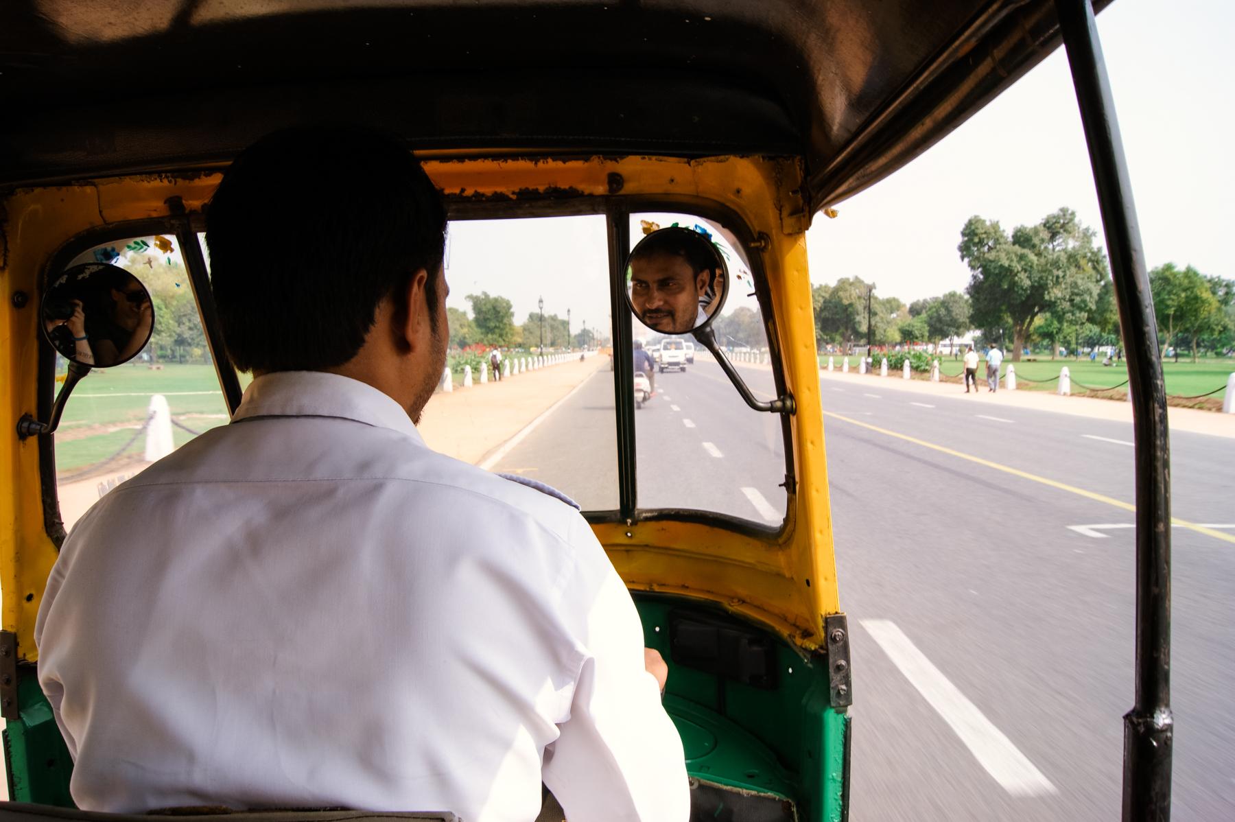 Viajar en tuk tuk también es muy rápido y cómodo